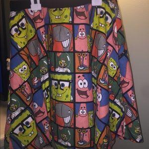 Dresses & Skirts - Spongebob and Patrick skirt